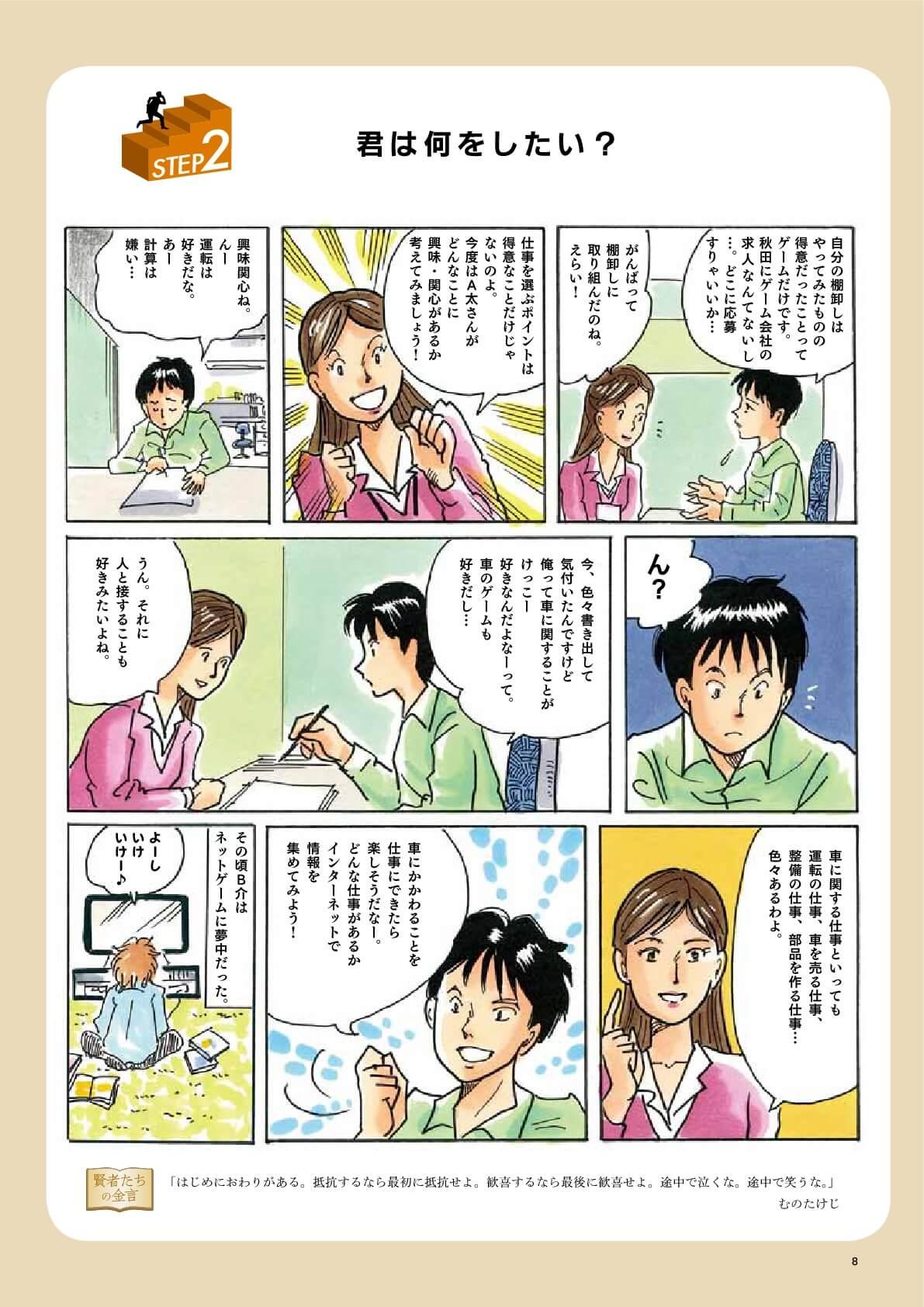 漫画:君はなにをしたい?